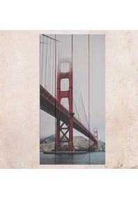 Мост Золотые Ворота 40х80см