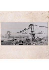 Строительство моста 40х80см
