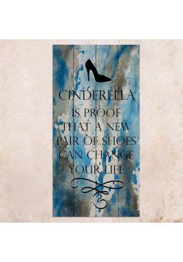 Панно на дереве Cinderella