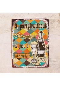 Вечеринка без шампанского