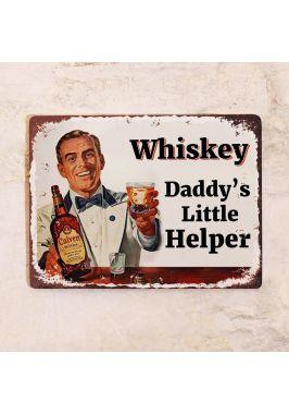 Табличка Whiskey Daddy's Little Helper