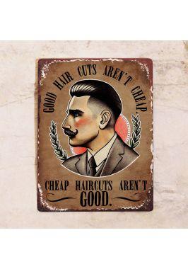 Good hair cuts aren't cheap