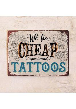 We fix tattoos
