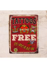 Free tattoos tomorrow