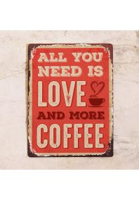 Love and more coffee
