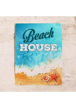 Табличка Beach house. Купить