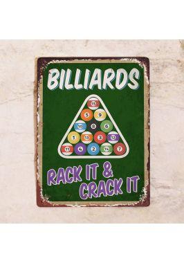 Табличка Billiards. Купить
