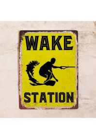 Wake station