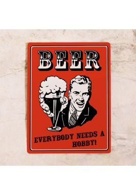 Табличка для бара Beer
