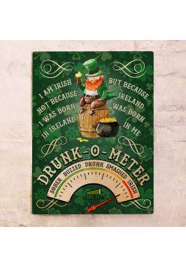 Табличка для бара Drunk-o-meter