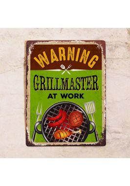 Табличка GrillMaster at work