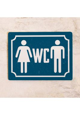 Общий туалет (Синяя)