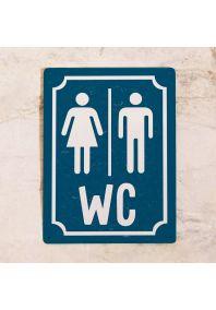 M+W WC (Синий)