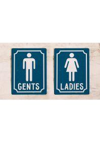 Набор Gents&Ladies (Синий)