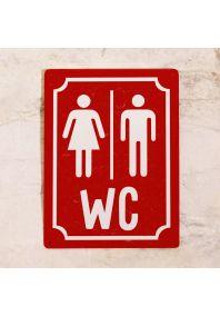 M+W WC (Красный)