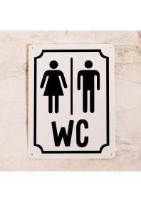 М+Ж WC (Белый)