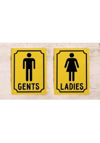 Набор Gents&Ladies (Желтый)