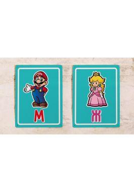 Набор табличек для туалета Марио