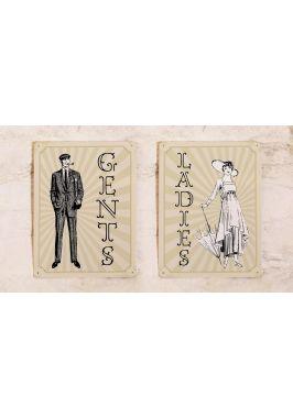 Набор Gents & Ladies Vintage