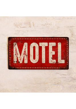 Табличка Motel