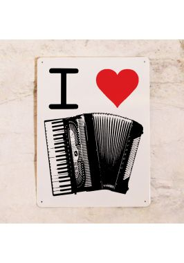 I love accordion