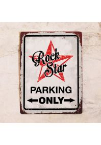 Rockstar parking only