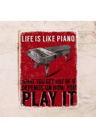 Life = Piano