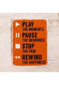 Play - Pause - Stop - Rewind