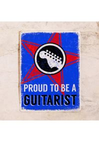 Proud to be a guitarist