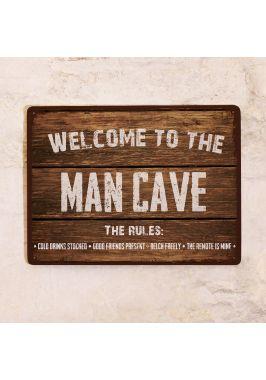 Табличка Man cave