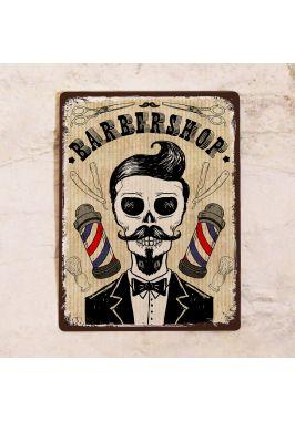 Табличка   Barber shop
