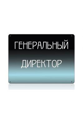 Табличка Генеральный директор серии Сапфир