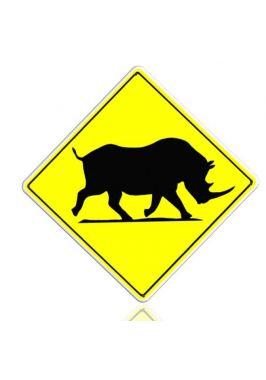 Осторожно! Носорог