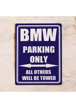 Парковочная табличка BMW