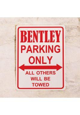 Парковочная табличка Bentley
