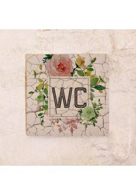 Vintage WC Roses