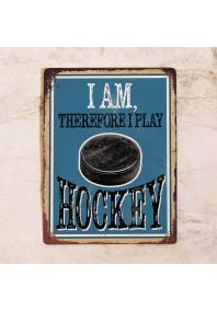 I am therefore i play hockey