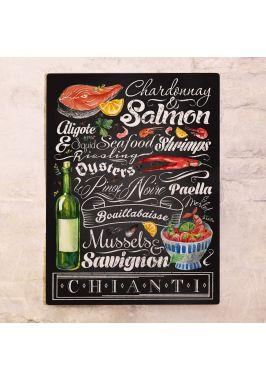 Вино и морепродукты XL