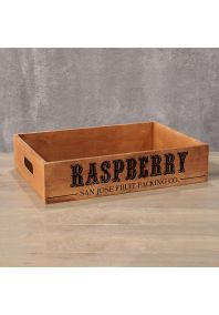 Деревянный ящик Raspberry