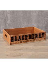 Деревянный ящик Blackberry