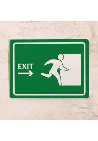 Знак Exit