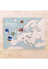 Контурная карта Европы  60х80 см