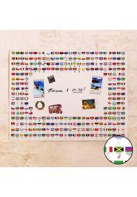 Флаги мира  60х80 см
