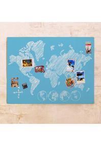 Декоративная карта-скетч  60х80 см