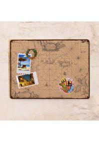 Древняя навигационная карта  30х40 см