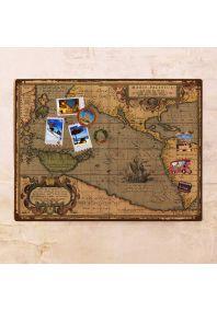 Древняя морская карта  60х80 см
