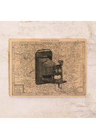 Жестяная табличка Ретро фотоаппарат