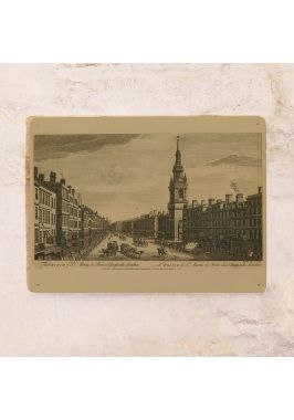 Винтажная табличка Лондон