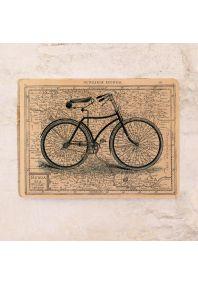 Жестяная табличка Велосипед