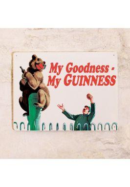 Жестяная табличка Guinness Bear